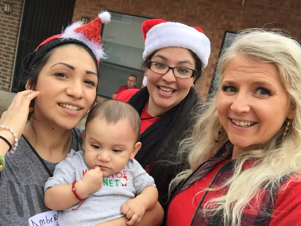 Celebrating Christmas with the RecoveryChicks at BAMBI.