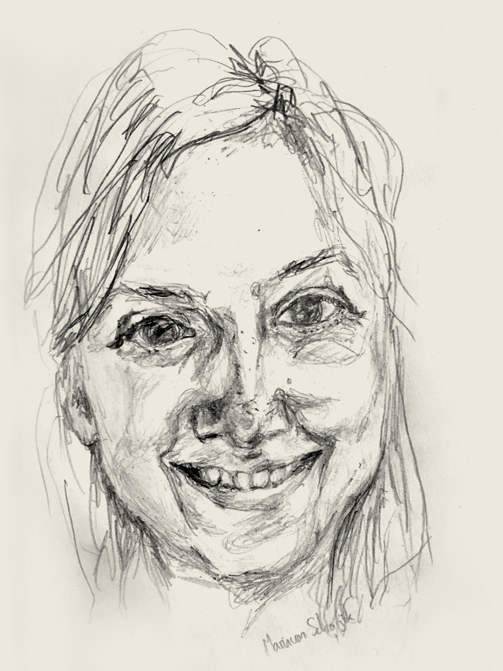 Maria van Schaijik, 1.16.18 pencil.