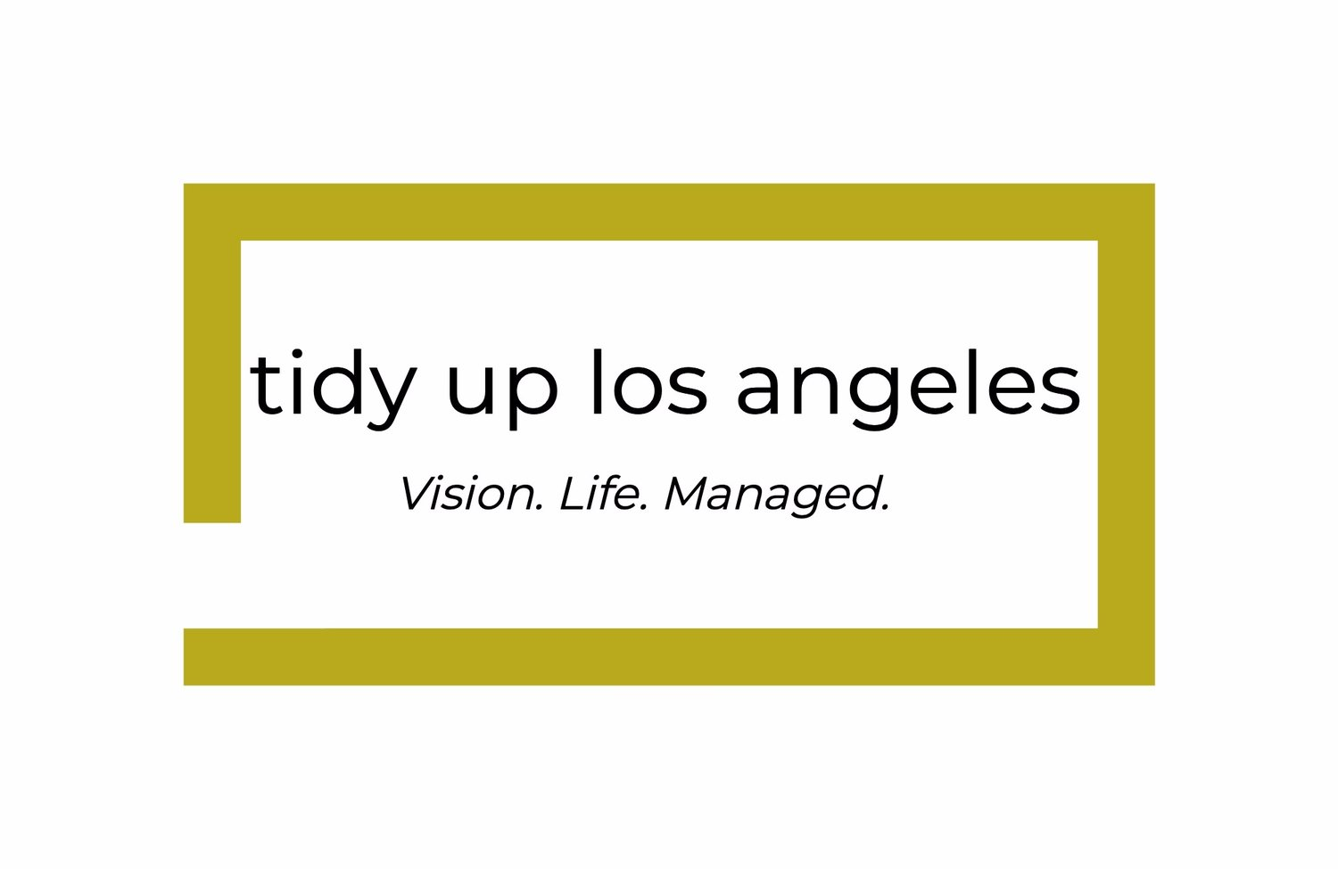 Tidy Up Los Angeles