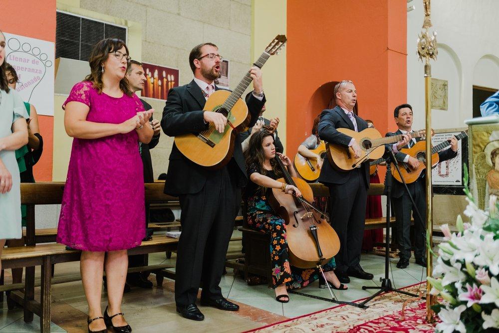 coro boda valvanera guitarra logroño