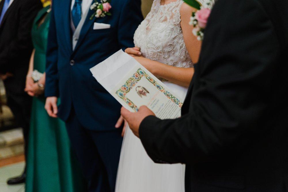 bendición del Papa boda logroño Valvanera