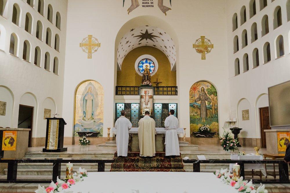 sacerdotes bendición boda logroño valvanera