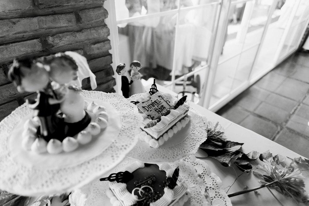 tarta novios boda logroño restaurante barros