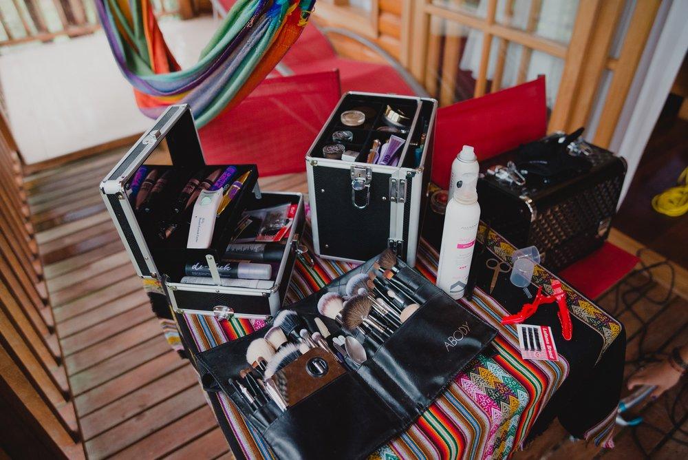 artículos de maquillaje para la novia