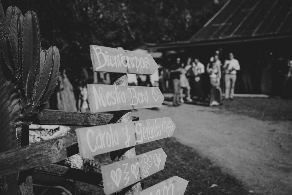 detalles en la boda