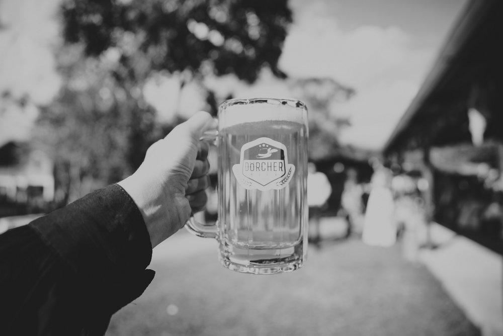 chopp de cerveza