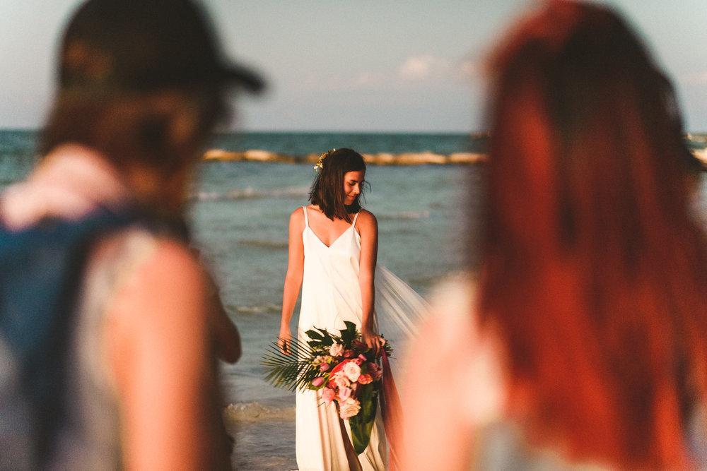 fotografas en holbox con novia