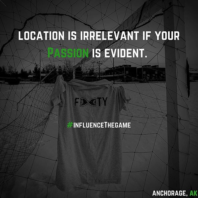 No matter where you are... the Beautiful Game is there. #InfluenceTheGame #soccer #footy 📷: @danielmickcreative