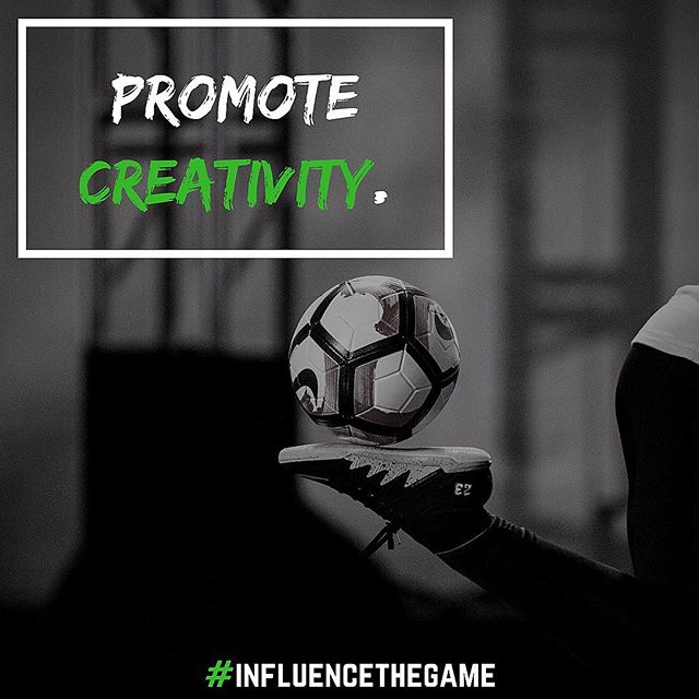 Creativity begins with decision making. Give the players a sense of autonomy and creativity emerges. Provide a structure for players but allow them to make decisions and enjoy creating. #InfluenceTheGame 📷: @photonate  #soccer #coaching #creativity