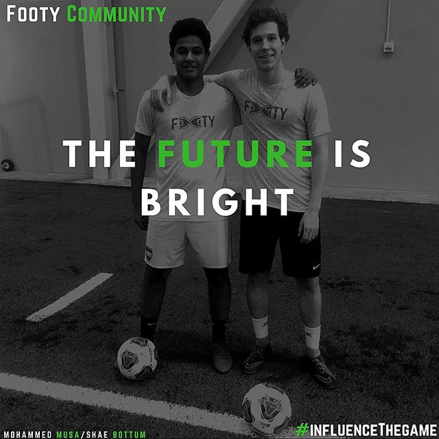 Preparing the next generation of Footy influencers. #soccer #InfluenceTheGame