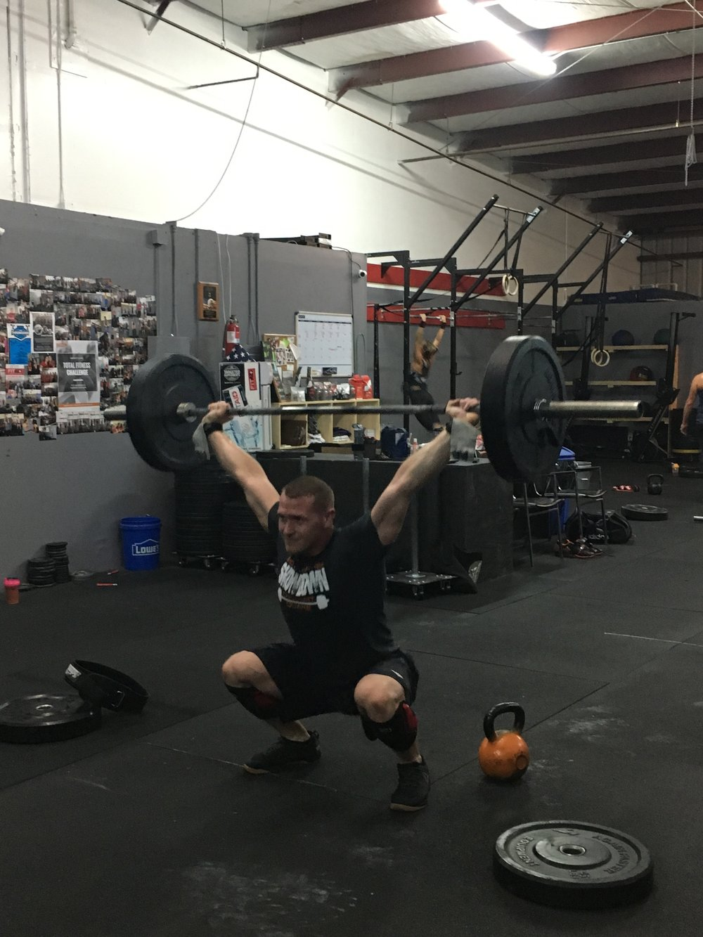 "Leo Roberts, Coach - I have been doing crossfit for 5 years.I have been coaching crossfit for 4 years to athletes of all skill and fitness levels. I have taught intro training for people who never done crossfit or have not had much experience with fitness at all.I love that crossfit is a fitness and health program that covers all aspects of fitness, this way I feel it doesn't get boring and keeps you coming back for more. Aside from that it is a very welcoming and supportive community.I don't know anything about this ""cheat food"" stuff but I do love ice cream and donuts in moderation.Crossfit Level 1 trainer, CrossFit Aerobic Capacity certification"