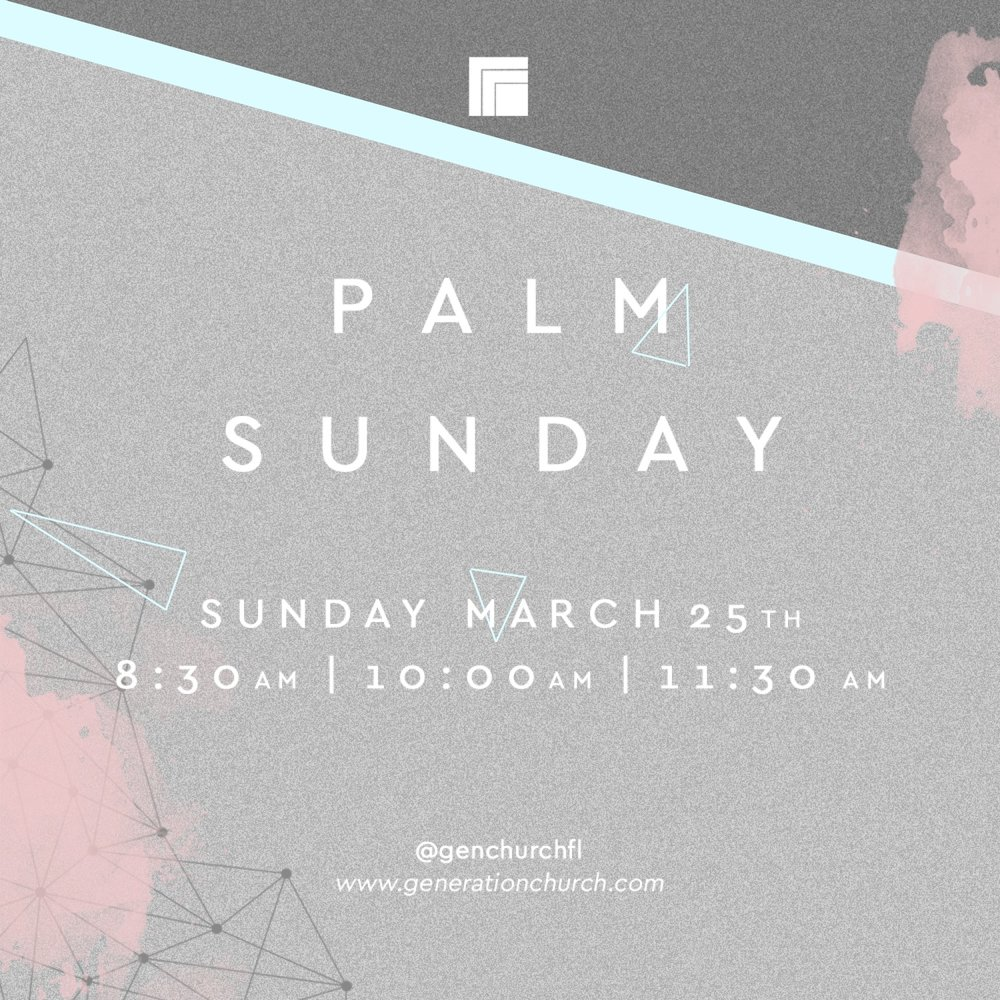 PALM SUNDAY INVITE -