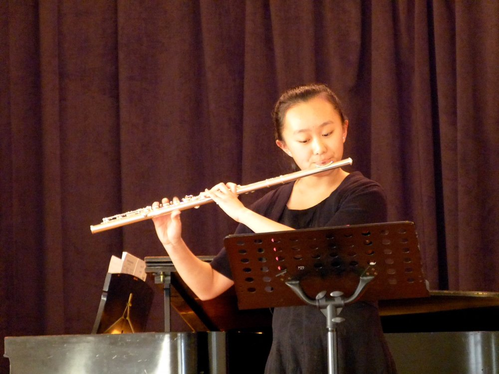 Annie Ping, flute - Leon Winters Award                            Second Prize $800In the summer of 2017 Annie earned 3rd place in the United States International Music Competition at Stanford, which is sponsored by the Chinese Music Teachers Association of Northern CaliforniaShe has also won Command Performance awards for California Music Teacher's Association and the Association of Christian Schools competitions.Annie's teacher is Troy Gunter.