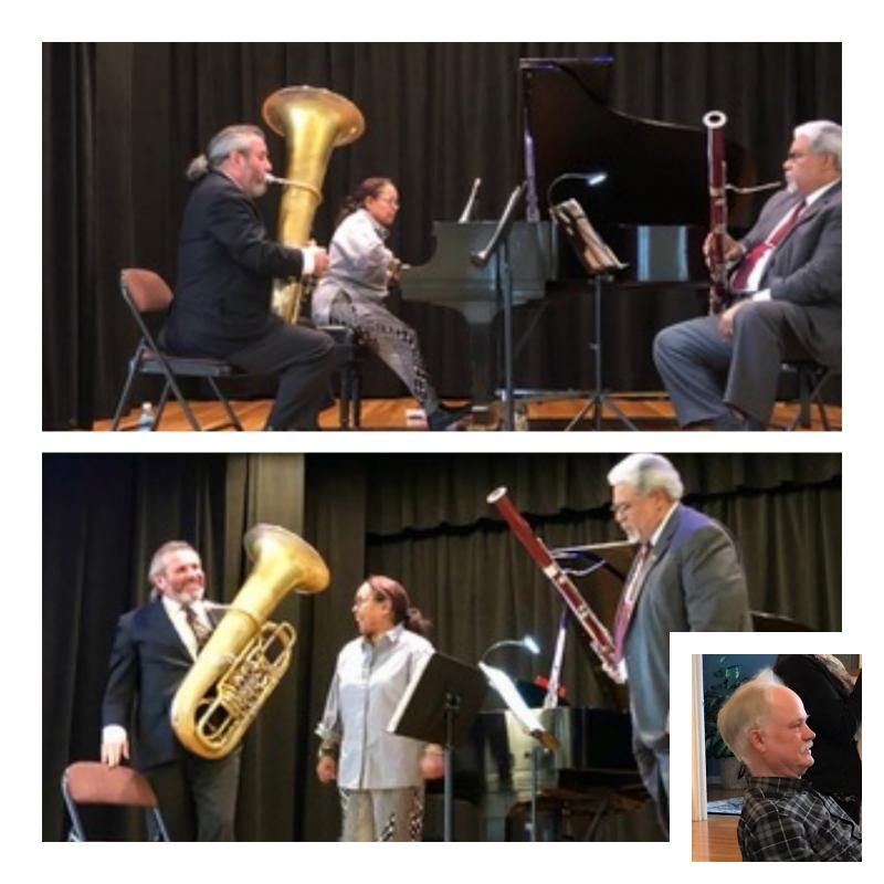 Aurio Trio - Karen Hutchinson, Rufus Olivier, Jr. & Zachariah Spellman - With a special Beatles Medley arrangement by Don HoweA Valentine's Day SerenadeFor program details click here.