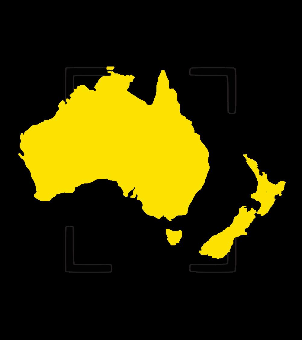 Australia &New Zealand - Coming Soon....