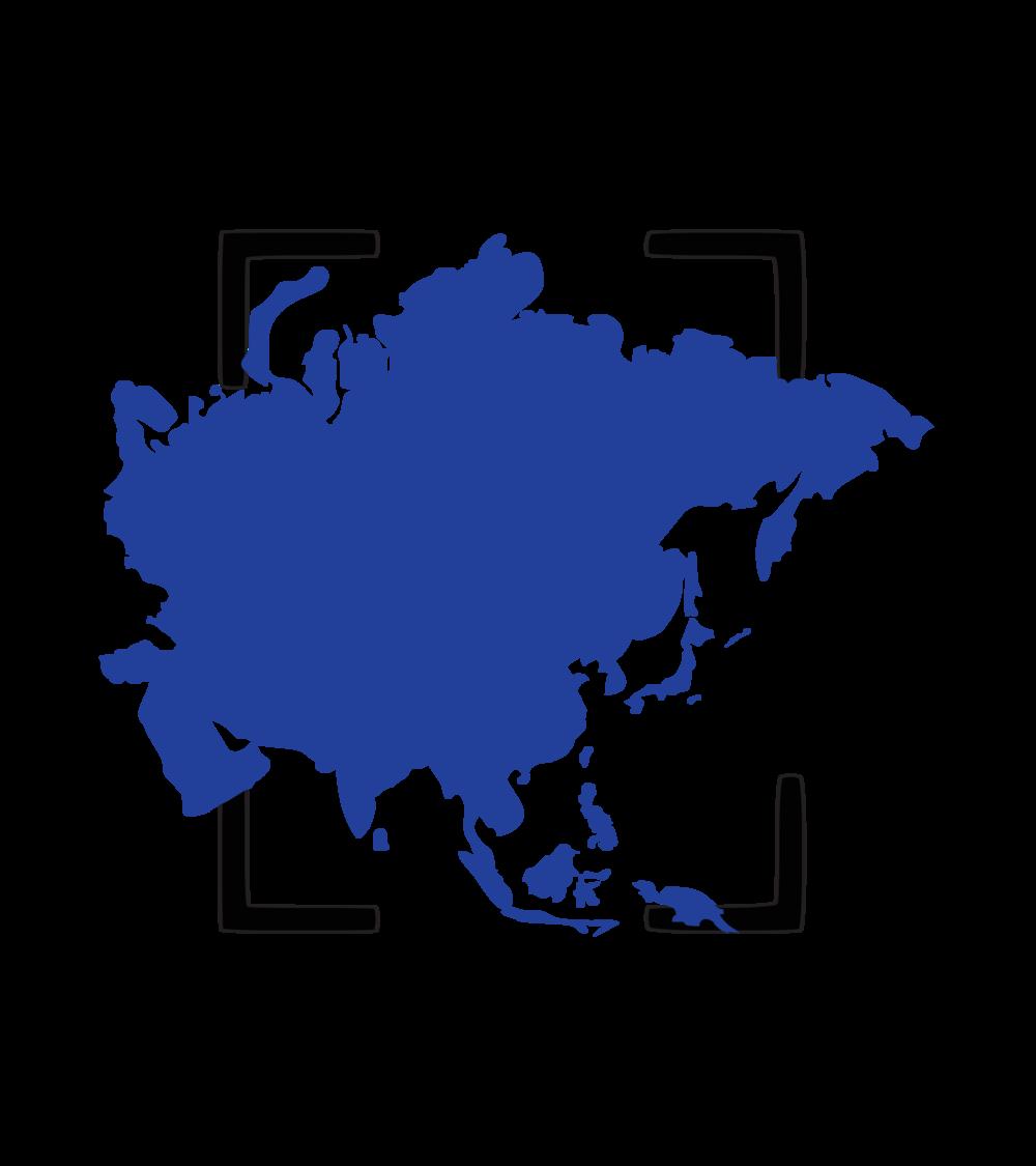 Asia - Description of the region vision.