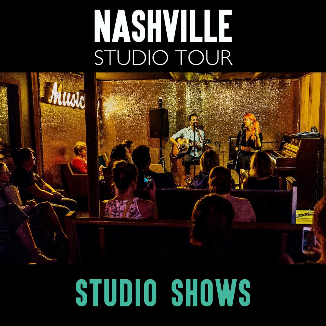 Studio Shows — Nashville Studio Tour