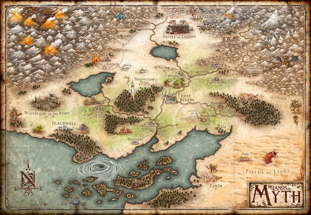 The Lands of Myth