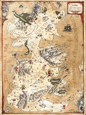 Westeros The Lands Of A Song Of Ice And Fire Jared Blando
