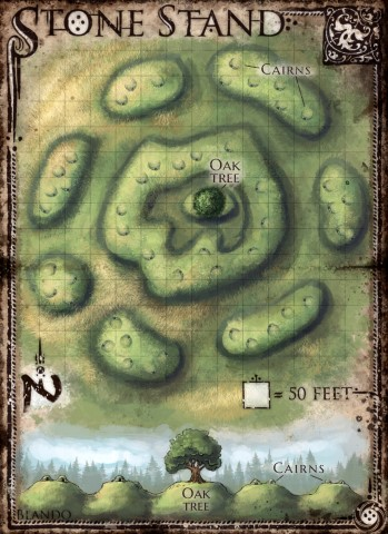 Stone Stand (DM & Player DD versions) — Jared Blando