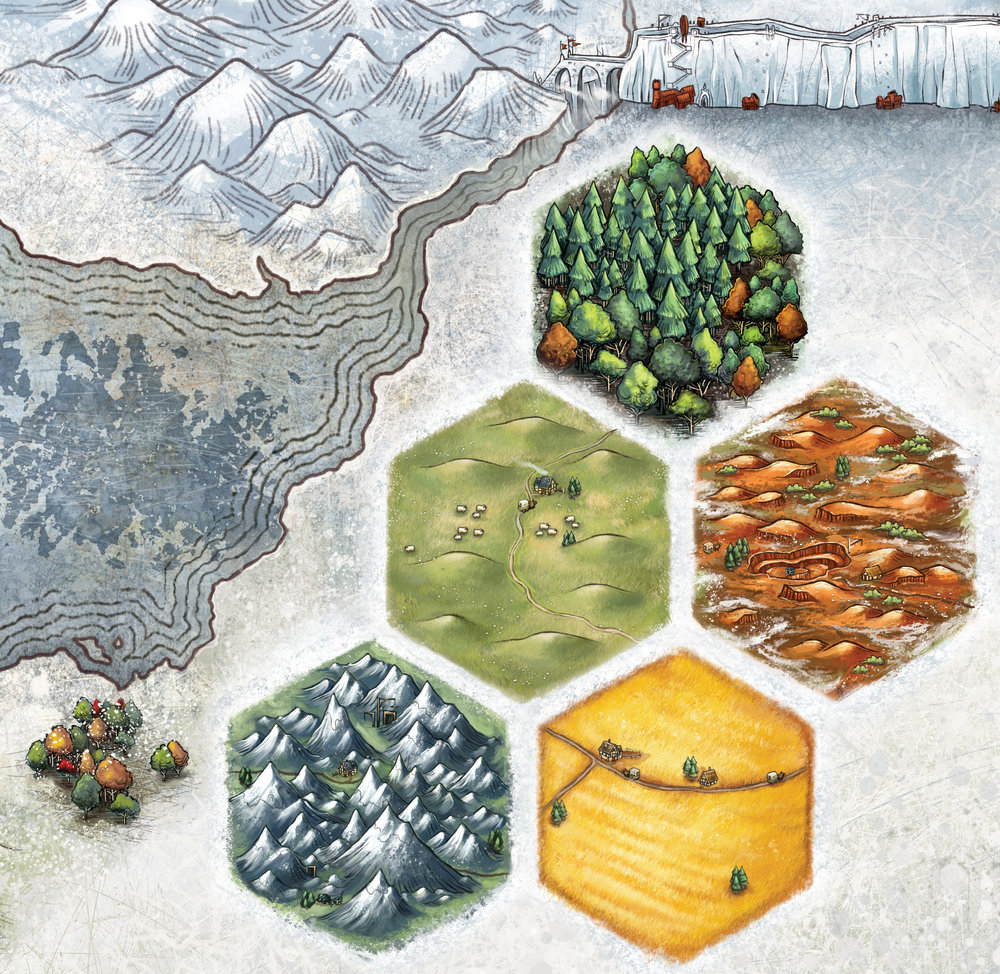 A Game of Thrones: Catan - Tile Detail