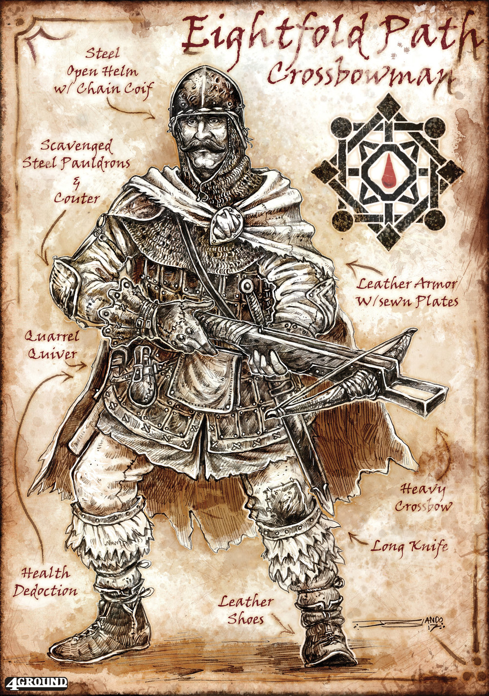 Eightfold Path Faction : Crossbowman