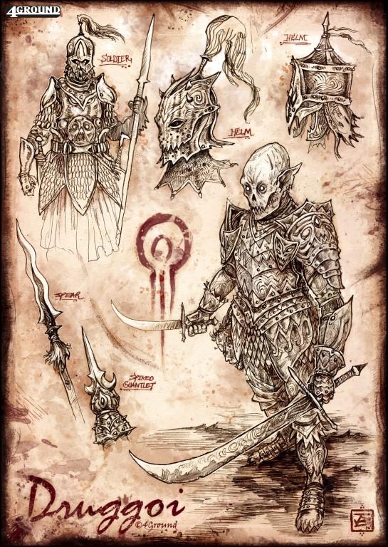 Druggoi Faction : Druggoi Purebloods