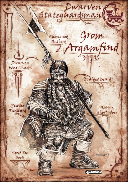 Mordanburg State Guard : Grom Arganfind