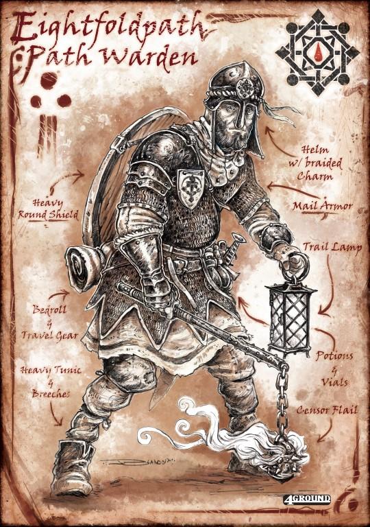 Eightfold Path Faction : Path Warden