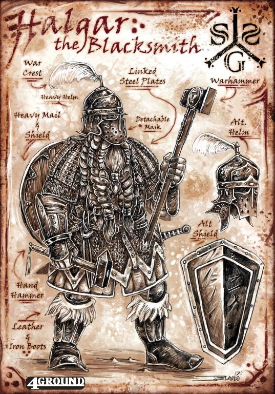 Sell Sword Guild Faction : Halgar the Blacksmith