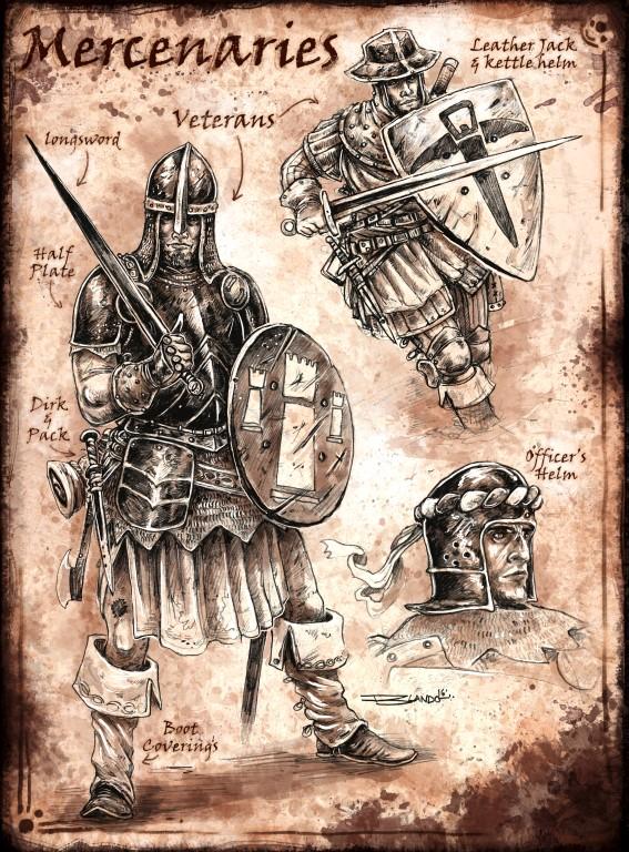 Sell Sword Guild : Mercs II