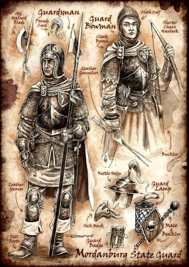 Mordenburg State Guard Faction : Guardsmen
