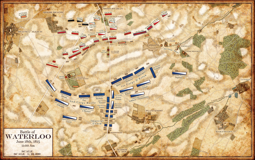 The Battle of Waterloo : Napoleonic Campaigns