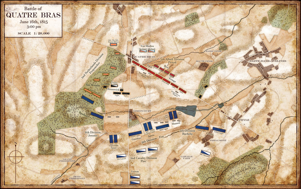Battle of Quatre Bras : Napoleonic Campaigns