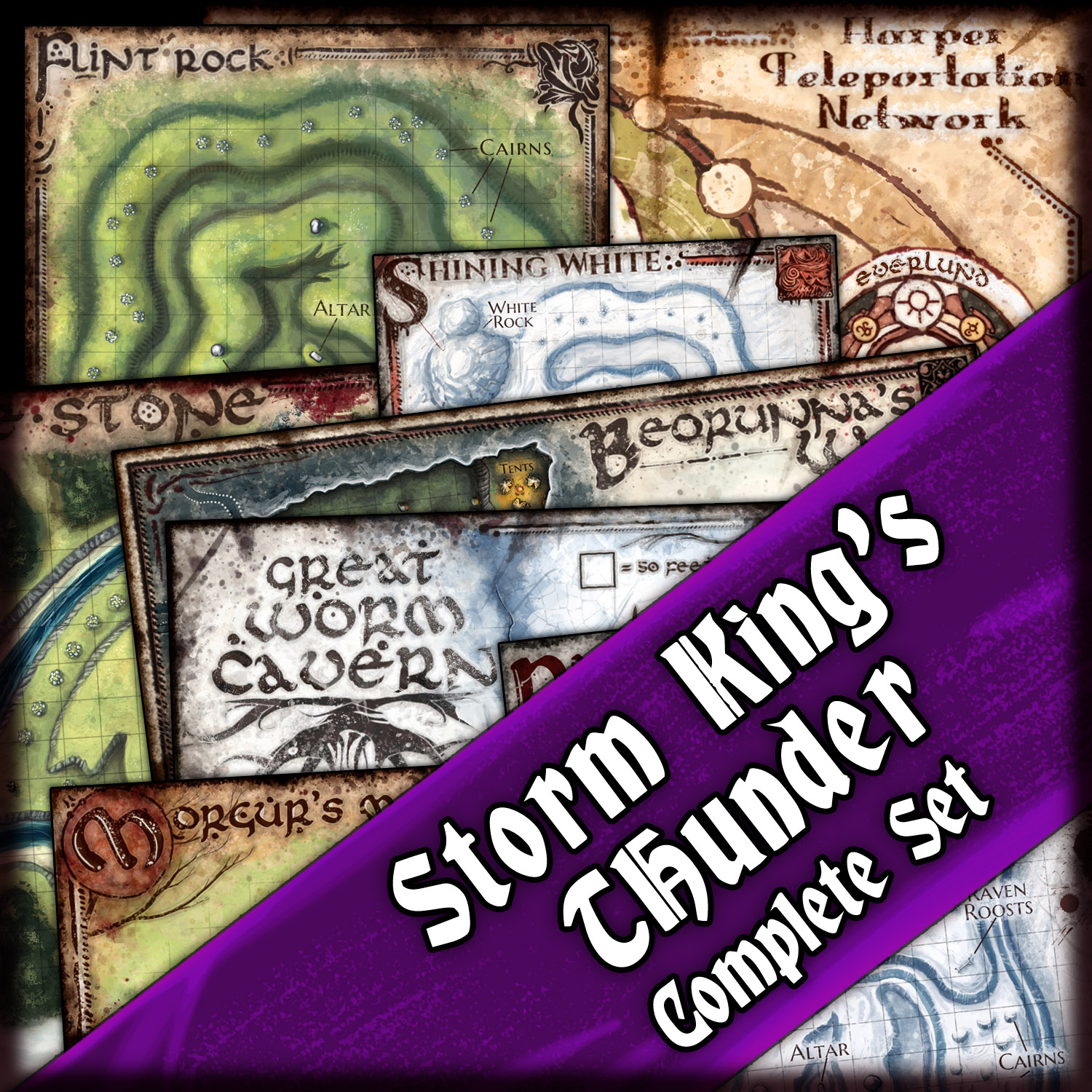 graphic regarding Storm King's Thunder Printable Maps known as Storm Kings Thunder: Blandos Detailed Map Offer Jared Blando
