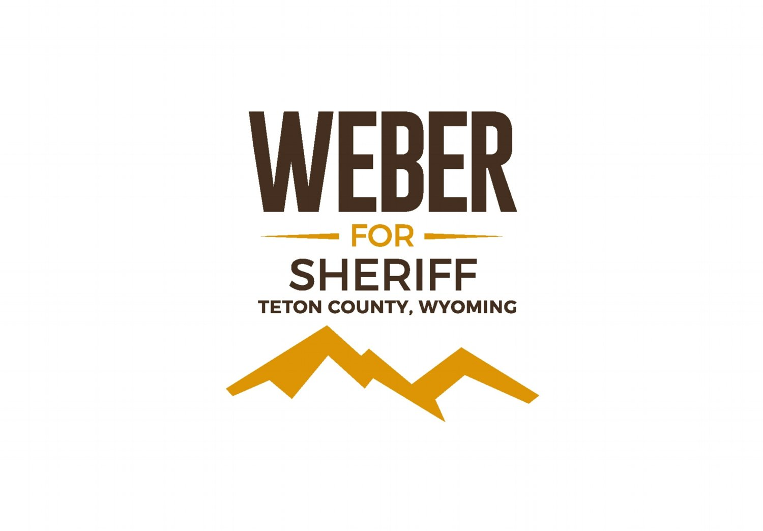 Weber for Sheriff