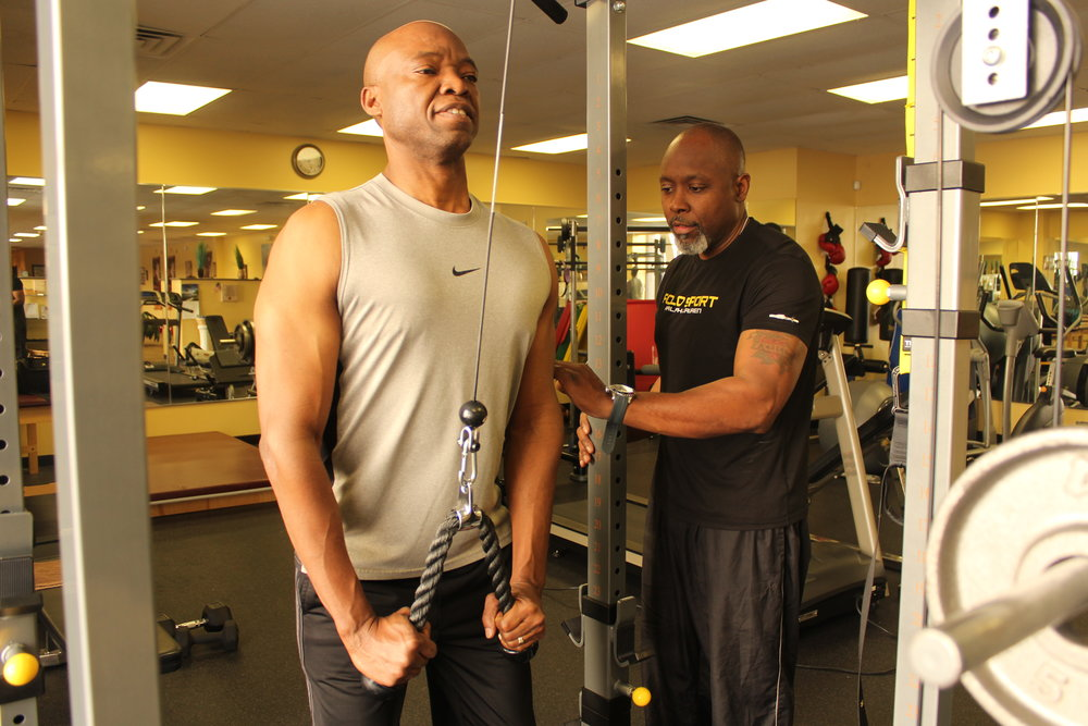 Custom programs to fit your needs - When you come to the Fitness Doctor and work with Kahlil or one of our other caring trainers,you will reach your physical fitness and health goals.Learn more ➝