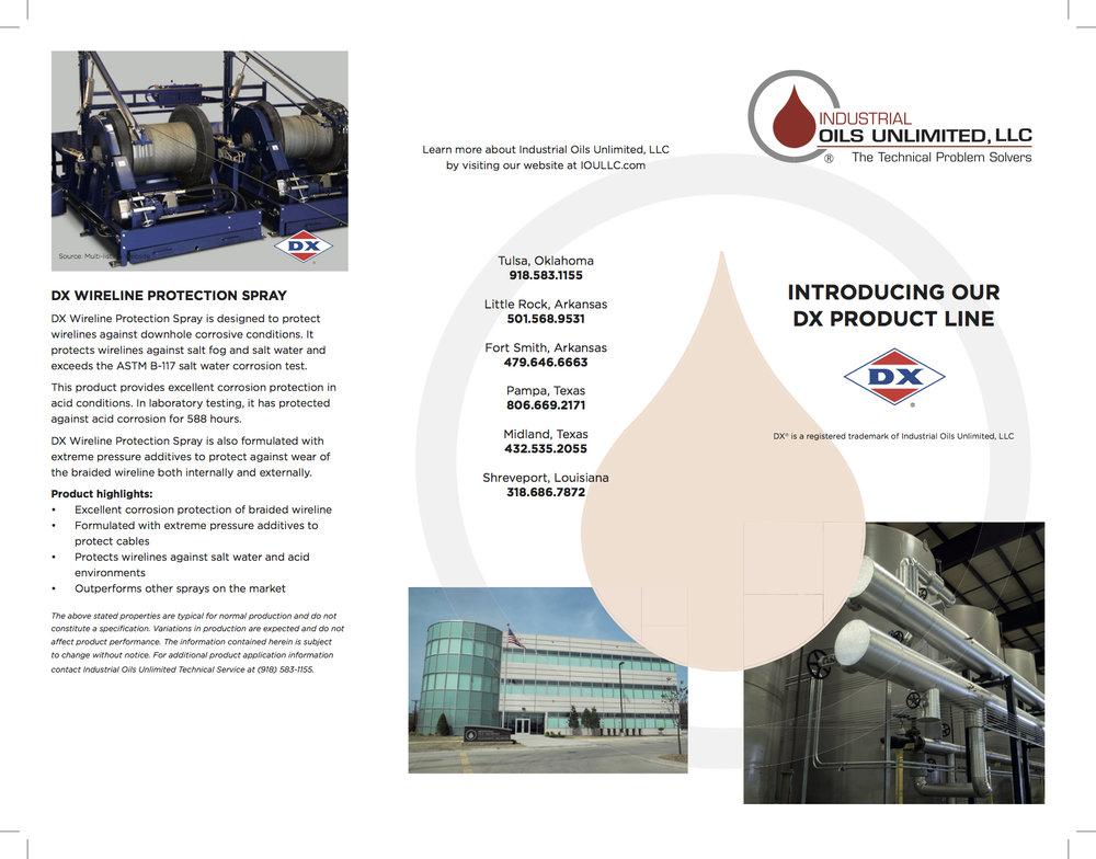 IOULLC Brochure Front