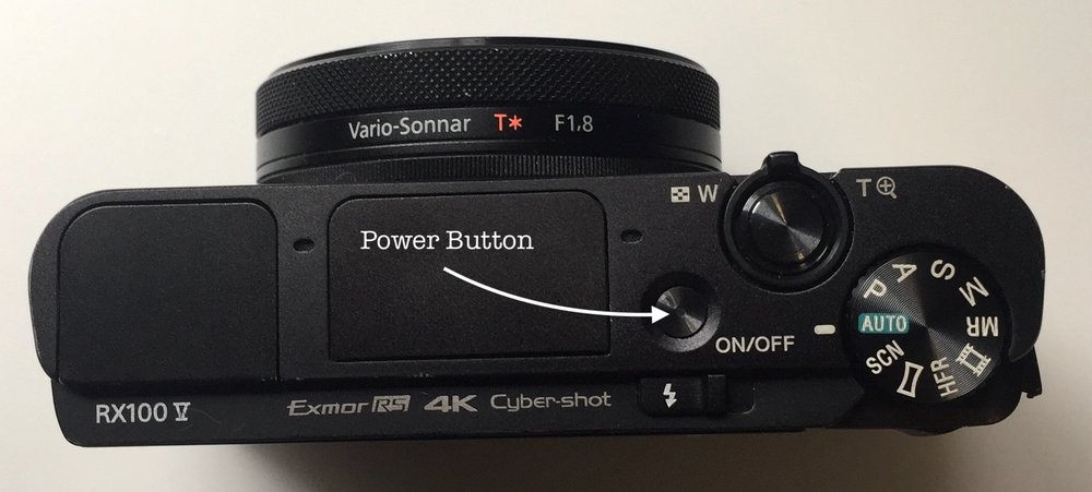 This is the power button, in case 'ON/OFF' wasn't clear.