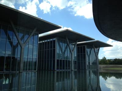 絵はがきみたいに美しい安藤忠雄 The Modern Art Museum of Fort Worth