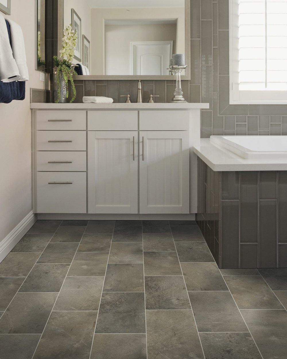Ceramic and Porcelain Tile From  Acadian Factory Direct Flooring