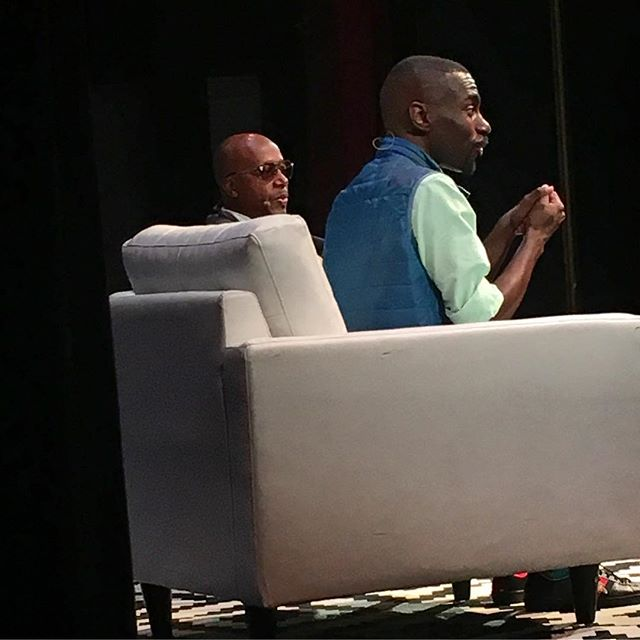 MC Hammer and DeRay McKesson. Legends! 🔥🔥