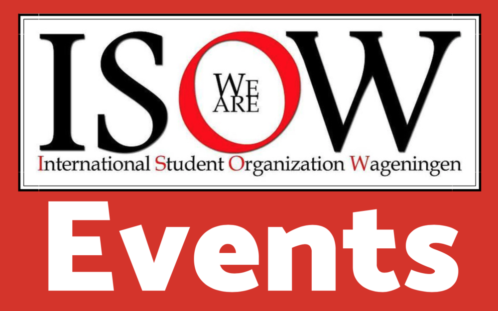 Event Schedule - ISOW organises different events each period. Find attached an overview of the first and second periods.More information related to specific event will be uploaded at least one week before the D-day.To stay informed you can also follow us on ISOW facebook page.Remember that for membership discounts, don't forget your ISOW Card.