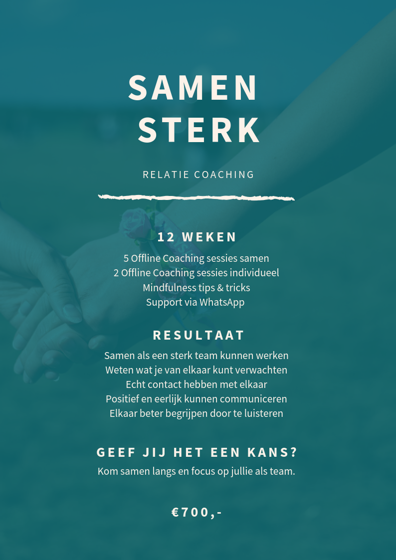 Samen Sterk - Your Next Chapter