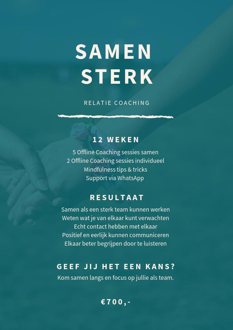 Samen Sterk - Your Next Chapter