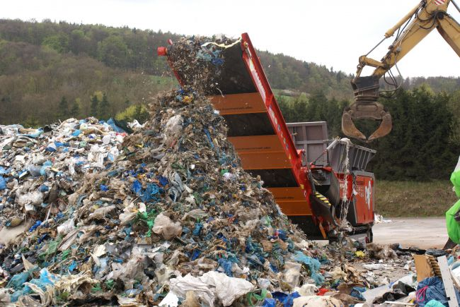 Sita Suez want to put a shredder like this one at Connon Bridge but residents are worried about noise and traffic.