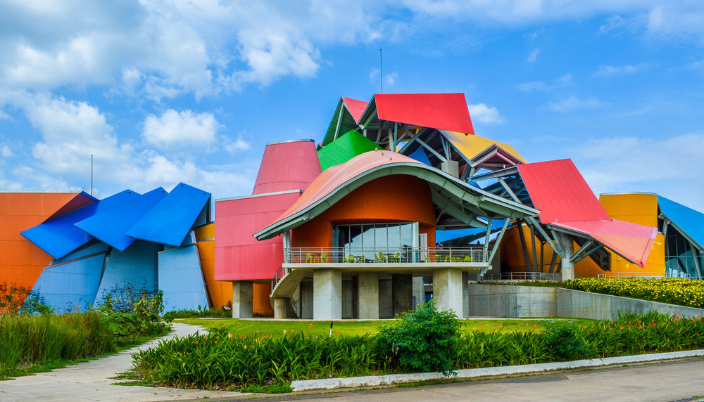 Biomuseo designed by architect Frank Gehry