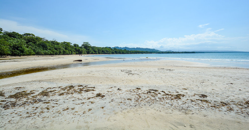 The beaches along Cahuita National Park offered visitors some fantastic hangouts and even some grills to host picnics along the coast