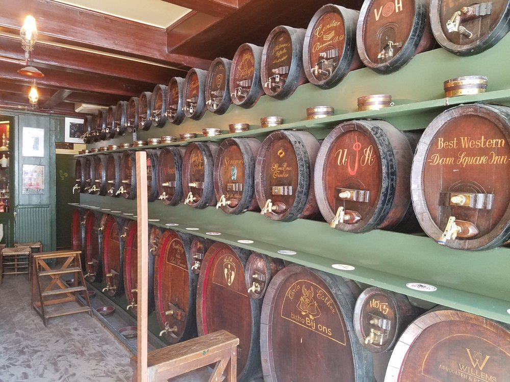 Barrels ready for drinking!