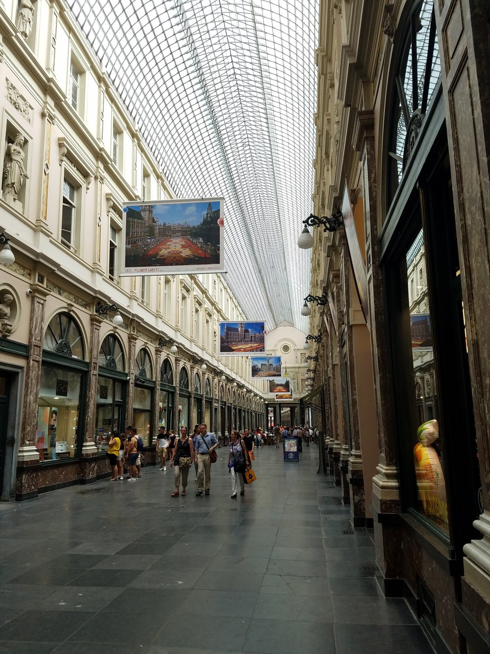 Les Galeries Royales Sint-Hubert is one of the oldest covered shopping arcades in all of Europe!